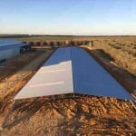 Erection of 72m(l) x 15m(w) x 5m(h) Open Front Machinery Shed in Neergabby, WA