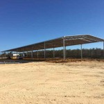 Construction of 72m(l) x 15m(w) x 5m(h) Open Front Machinery Shed in Neergabby, WA