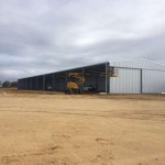 Completion of 72m(l) x 15m(w) x 5m(h) Open Front Machinery Shed in Neergabby, WA