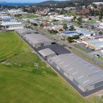Albany Ag Society with site works completed, Albany, WA