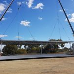 AUSPAN Roof Lift of a 40 x 15 x 6 Storage Shed with 9 x 32 Canopy, Gnowangerup, WA