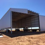 Construction of 30 x 15 x 9m Fertiliser Shed in Lake Grace, WA