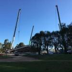 Progress on Indoor Riding Arena in Wilyabrup, WA