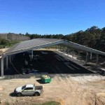 Progress on Indoor Riding Arena in Wilyabrup, WA