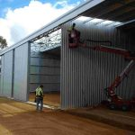 Construction of a new 40 x 12m Fodder Storage Shed in Cuballing, WA