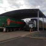 New Fuel Bowser Cover for Great Southern Fuel Supplies in Katanning, WA.