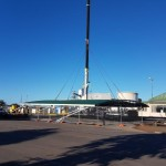 AUSPAN Roof Lift for Great Southern Fuel Supplies in Katanning, WA.
