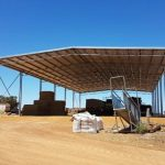 48 x 24 x 7.7m Hay Shed in Broomehill, WA