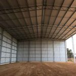 Completion of new 40 x 21 x 9m Hay Shed in Cuballing, WA