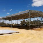 Construction of 32 x 18m Hay Shed In Gingin, WA