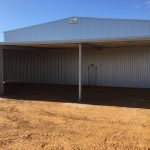 Completion of 32 x 18m Hay Shed In Gingin, WA