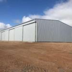 Completion of 48m(l) x 21m(w) x 6.75m(h) Machinery/Workshop Shed in Munglinup, WA