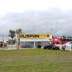 The AUSPAN stand at Mingenew Expo