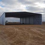Open Front Machinery Storage Shed, Cascade, WA