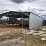 40 x 18 x 6m Shearing Shed in Boyup Brook, WA