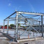 Construction on Cocos Island