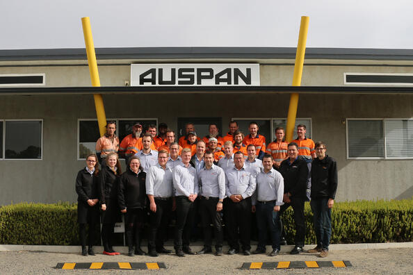 AUSPAN Staff Photo - 25th May 2018.