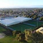 Warnbro Bowling Club green cover completed