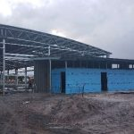 Work continues on the showgrounds for Albany Agricultural Society