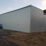 New Bunbury PCYC Shed almost complete