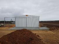 24 x 15 x 6.5 Grain Storage Shed, Green Range, WA