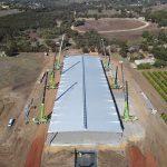 Auspan Rooflift for Moora Citrus in Bindoon, WA